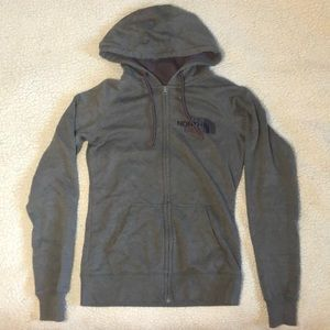 THE NORTH FACE zip up hoodie, size S